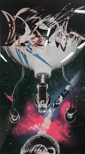James ROSENQUIST - Grabado - Where the Water Goes from Welcome to the Water Planet