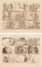 Pablo PICASSO - Print-Multiple - Sueño y mentira de Franco