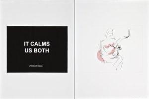Laure PROUVOST - Estampe-Multiple - It calms us both 2