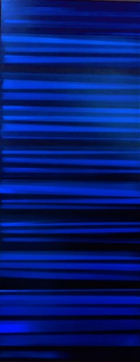 Alain-Jacques LEVRIER MUSSAT - Gemälde - La mesure de la surface
