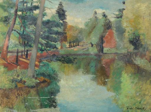Nicolai CIKOVSKY - Pintura - Landscape