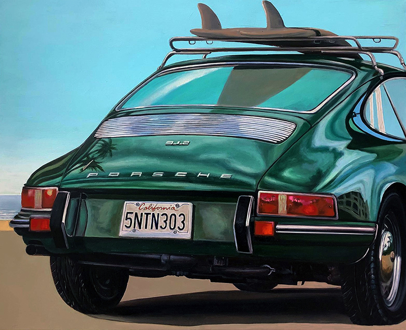 FABRIANO - Painting - Porshe 912