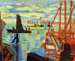 Max GUBLER - Gemälde - VENEDIG