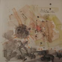 Mordecai ARDON - Dibujo Acuarela - Sunset