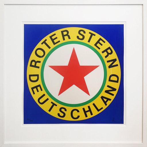 Ferdinand KRIWET - Grabado - Roter Stern Deutschland