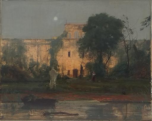 Silvestro PISTOLESI - Pintura - La Villa