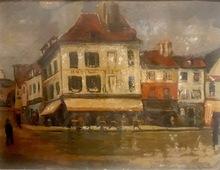 Lucien GENIN - Painting - Hôtel du Tertre