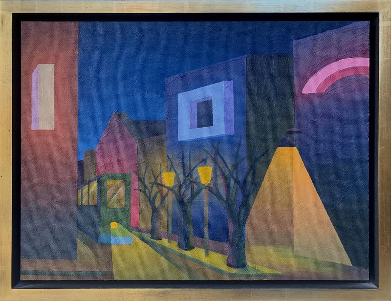 SALVO - Pintura - La Città