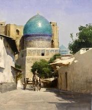 Alexey ALPATOV - Painting - Bibi-Khanym