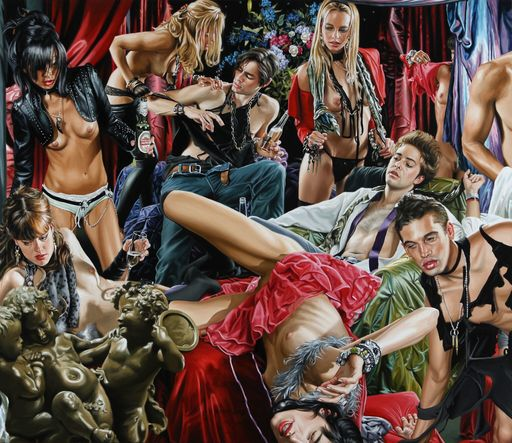 Terry RODGERS - Peinture - Cupid's Delight