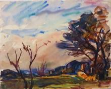 Marcel ARNAUD (1877-1956) - Paysage vers Aix en provence