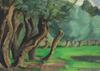 Paul Émile PISSARRO - Painting - L'Arbre au Bord de l'Eau