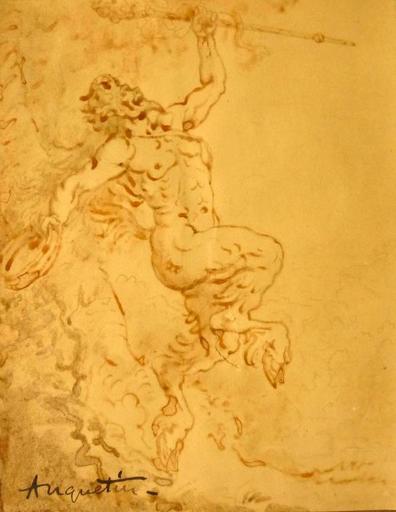 Louis ANQUETIN - Disegno Acquarello