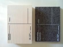 Joseph BEUYS - Sculpture-Volume - Filz & Holz Postkarte