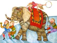 Graciela RODO BOULANGER - Print-Multiple - Parade-Elephant