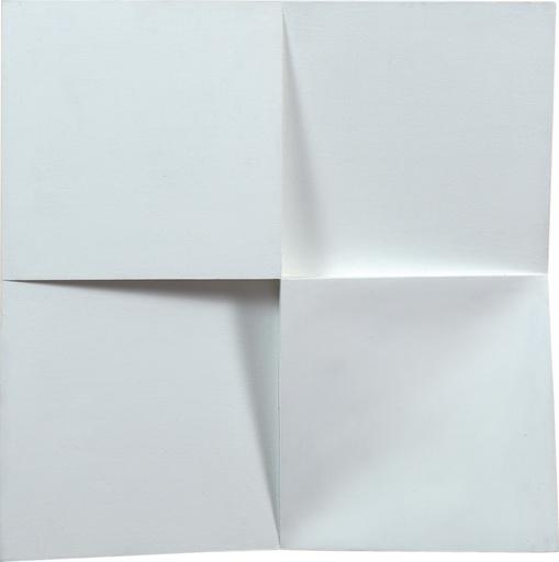 Jerzy GROCHOCKI - Skulptur Volumen - ...White Words Don't Cast a Shadow...