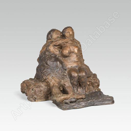 Alfred HRDLICKA - Sculpture-Volume - Shappo, 1957
