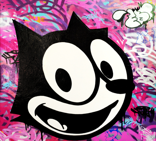 FAT - Painting - Felix The Cat