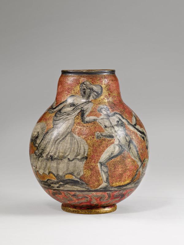 "Jean MAYODON - Vase ""centaures"", circa 1925"