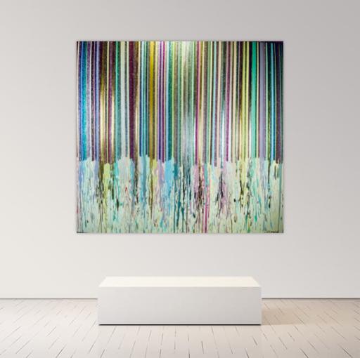 Alexandra BERNARDINI - Gemälde - 185x200cm Celebration of Life 4
