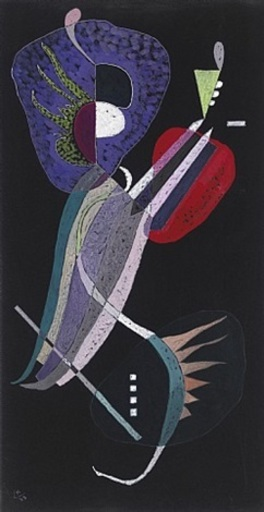 Wassily KANDINSKY - Peinture - La Resolution - Sold