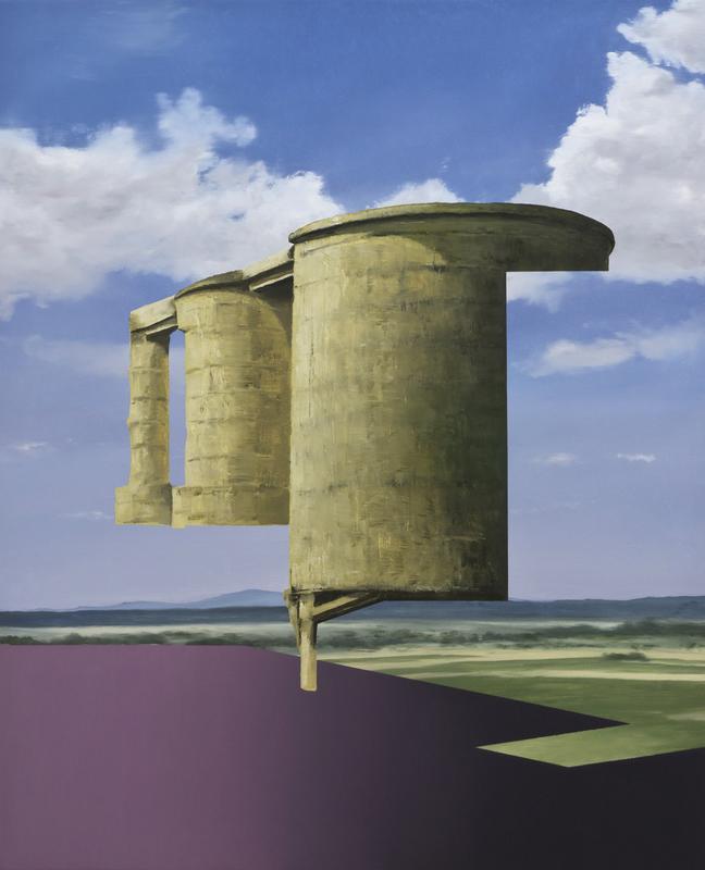 Patrick CORNILLET - Peinture - Silos