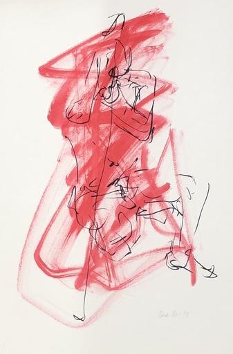 Nicole LEIDENFROST - Zeichnung Aquarell - Akt Nr. 19