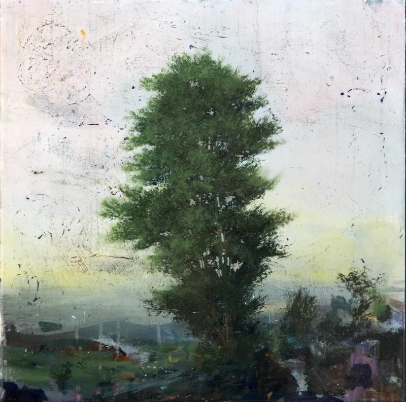 Peter HOFFER - Peinture - Peach Sky