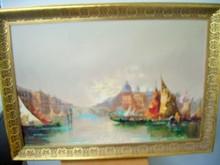 Antonio DEVITY (1901-1993) - VENETIAN CANAL