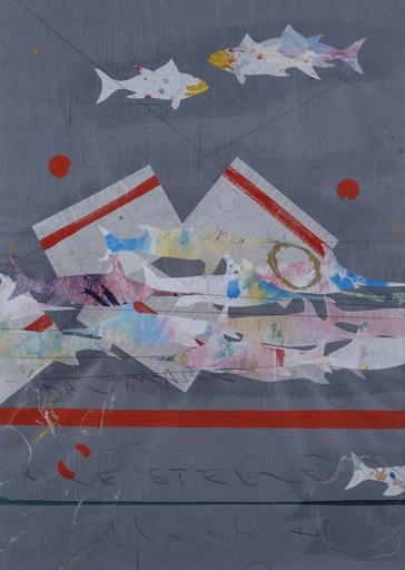 Alighiero BOETTI - Painting - Dal Mare alle stelle