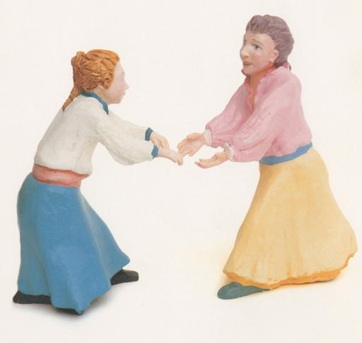 Gian Marco MONTESANO - Sculpture-Volume - Le ragazze ballano intorno al mondo