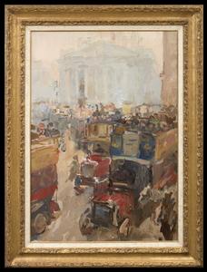 Isaac Lazarus ISRAELS - 绘画 - The Royal Exchange, London