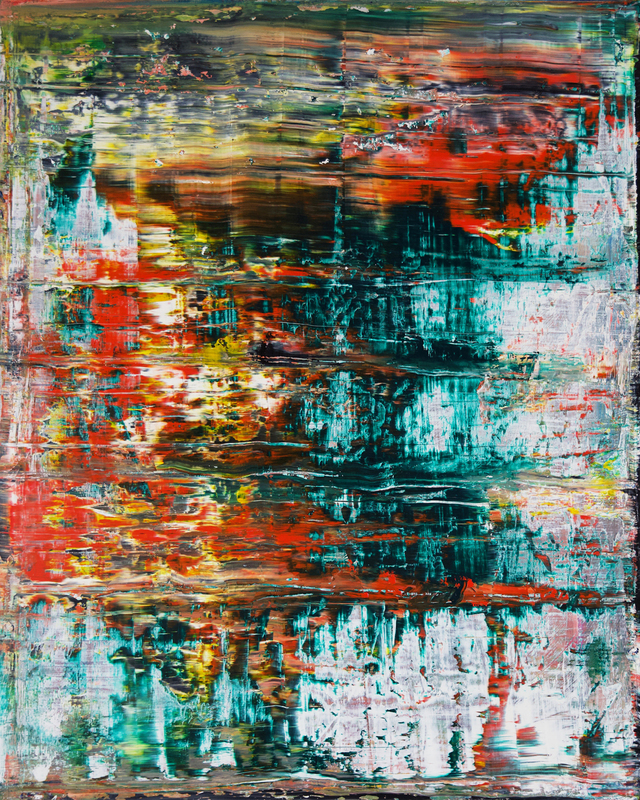 Harry James MOODY - Painting - abstract green No.425
