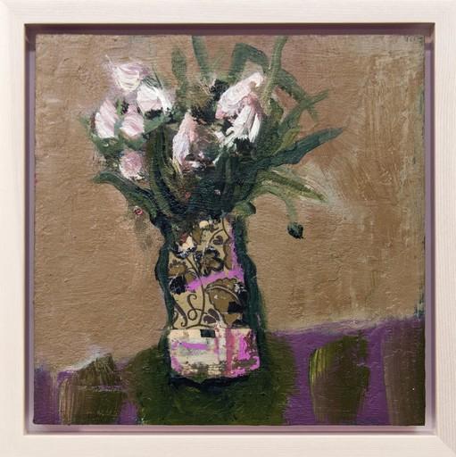 Jennifer HORNYAK - Painting - Fiori Bianchi