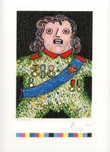 Enrico BAJ - Print-Multiple - GRAVURE SIGNÉE CRAYON NUM/10000 HANDSIGNED NUMB ETCHING