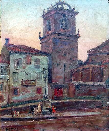 José SEIJO RUBIO - Pintura - PLAZA DE IGLESIA