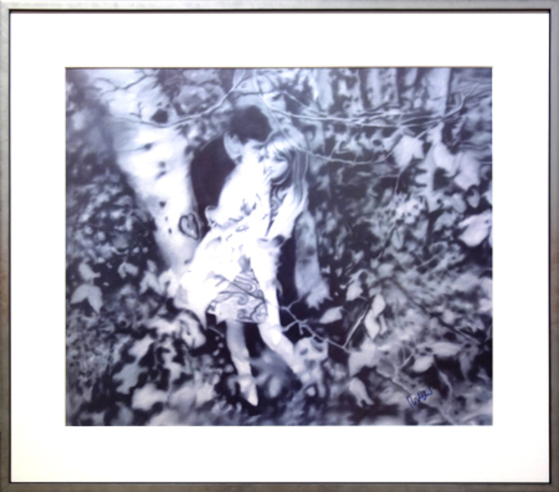 Gerhard RICHTER - Print-Multiple - Lovers in the forest