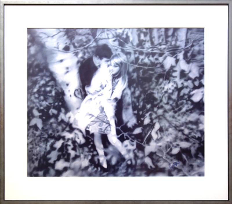 Gerhard RICHTER - Estampe-Multiple - Lovers in the forest