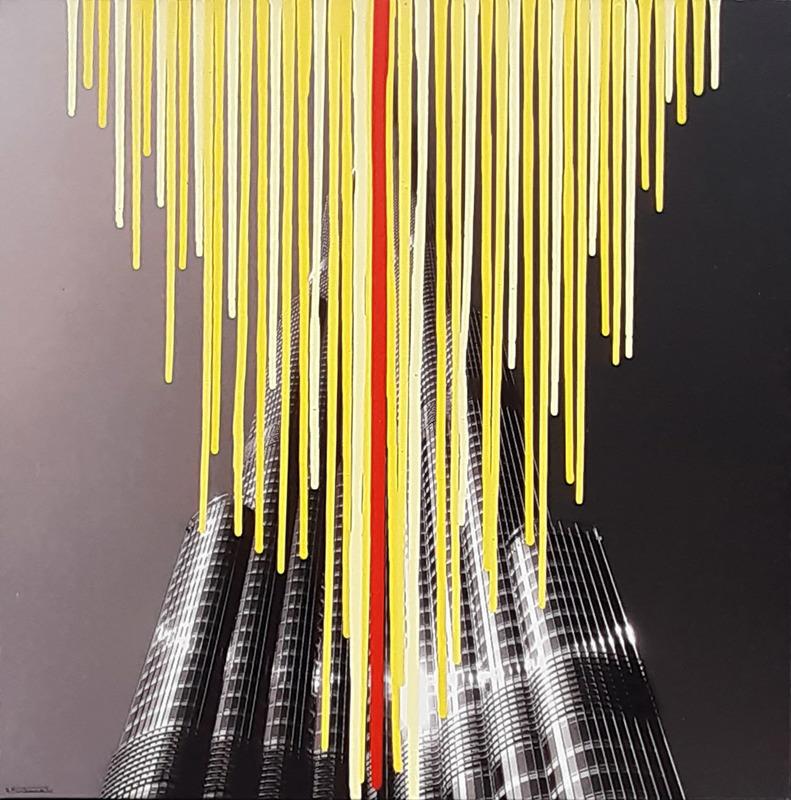 Giuseppe FORTUNATO - Peinture - 140128v/55x55cm