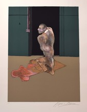 Francis BACON - Estampe-Multiple - Study for a Portrait of John Edwards