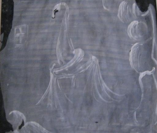 Eugène GABRITSCHEVSKY - Dibujo Acuarela - LE CYGNE