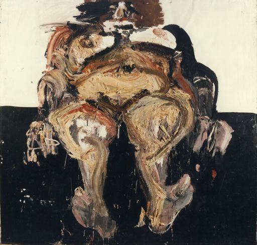 Bernard DAMIANO - Painting - Nudo di Prostitu, 1977-78