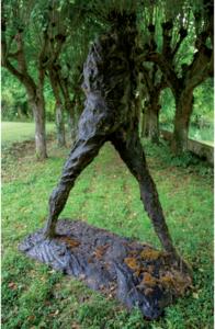 Serge MANSAU - Sculpture-Volume - Les petits marcheurs 2
