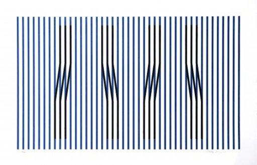 Carlos CRUZ-DIEZ - Print-Multiple - Induction du Jaune Masnou