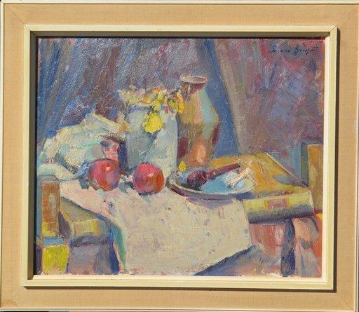 Sergei BONGART - Painting - Still-life