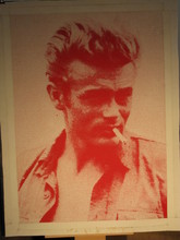 Russell YOUNG (1960) - James Dean, Red & White