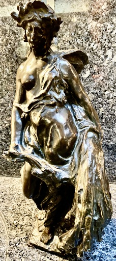 Léandre GRANDMOULIN - Escultura - La déesse de la moisson