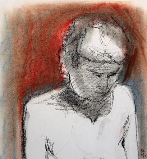 R.CAVALIÉ - Drawing-Watercolor - N.R. 150