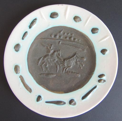 Pablo PICASSO - Ceramiche - Picador and Bull