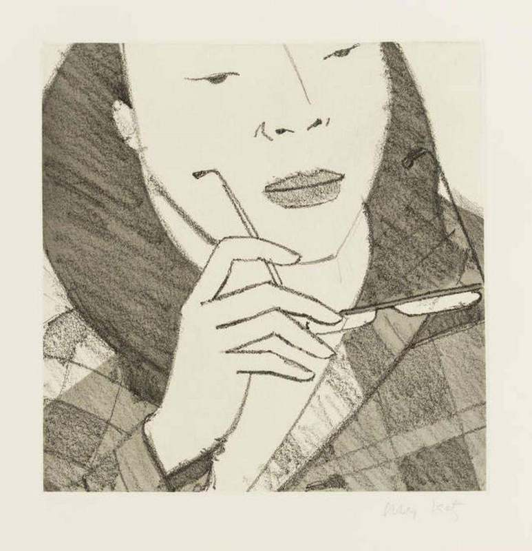 "Alex KATZ - Grabado - Untitled from ""Light as Air"""